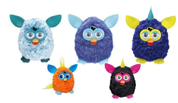 New Furby Colours