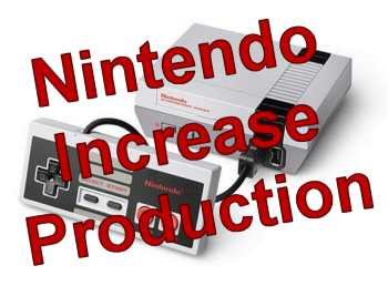 Nintendo Increase NES Mini Classic Production