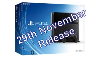 PS4 UK Release Date