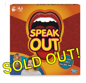 Speak Out Sold Out of Stock