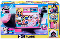 LOL Surprise OMG Remix 4-in-1 Plane