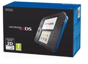 2DS Console Black/Blue