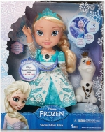 Snow Glow Elsa doll packaging