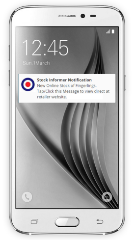 Stock Informer mobile stock push notification